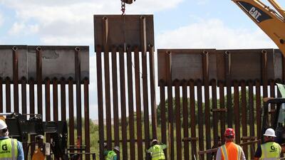 Termina La Construcci 243 N Del Reemplazo De Un Tramo Del Muro