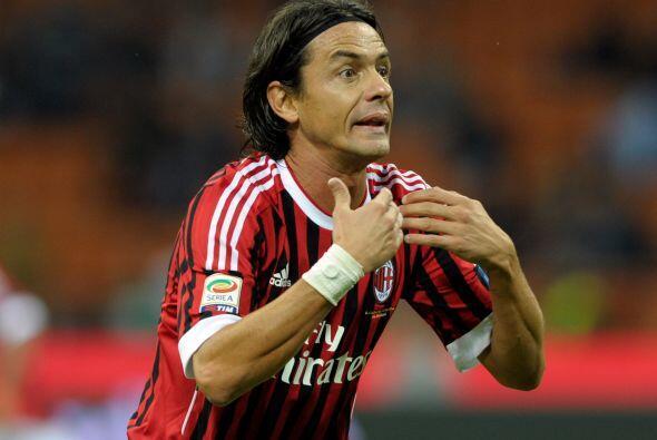 El veterano Filippo Inzaghi quiere jugar en esta etapa final de su carre...