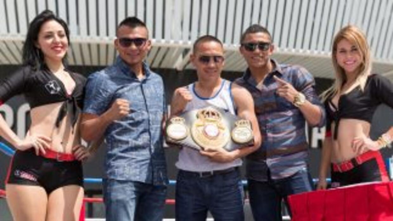 'Gallo' Estrada expondrá sus título en Mëxico (Foto: Zanfer).