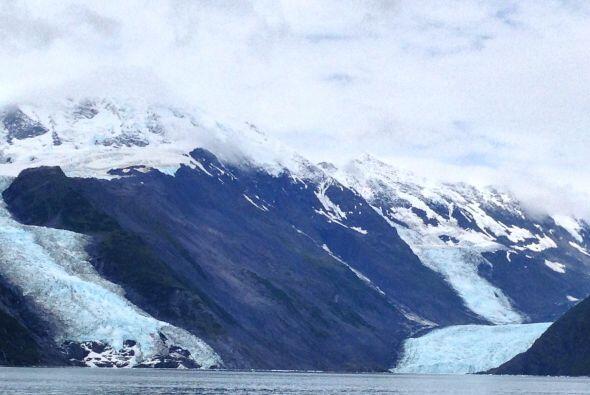 Para después llegar a los glaciares.