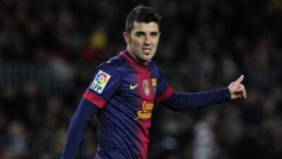 David Villa estará en el ataque de España.