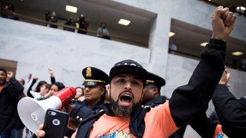 Las protestas por el Dream Act en el Congreso terminaron con varios dete...