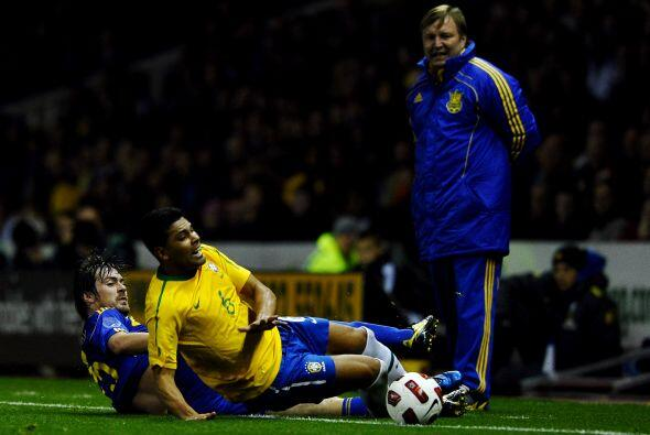 No obstante, en este partido Brasil sufrió en varias fases del encuentro...