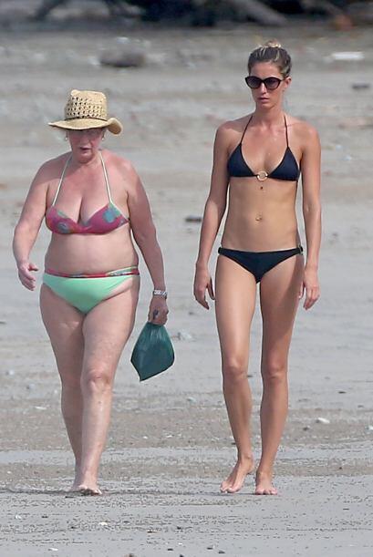 Muchos dicen que las curvas de la Top Model, Giselle Bundchen, se las de...