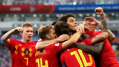 En fotos: Bélgica impuso jerarquía y goleó 3-0 a Panamá en primer duelo del grupo G