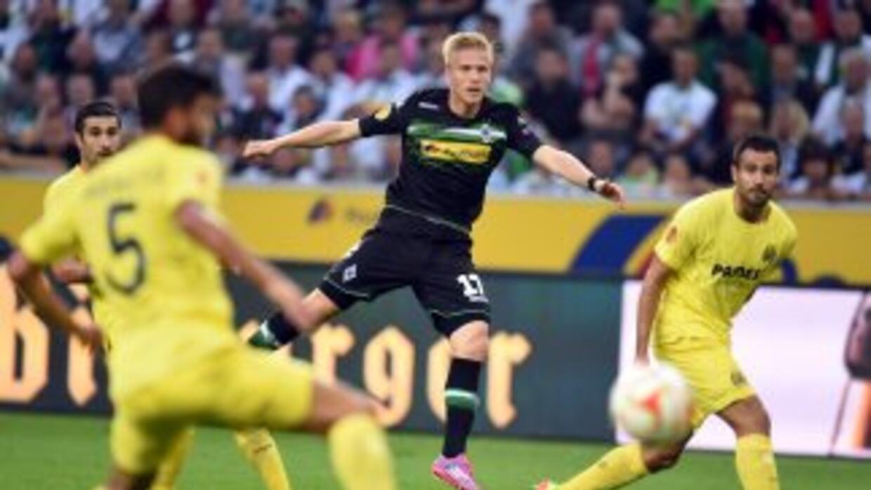Villlarreal logró un empate en Alemania.
