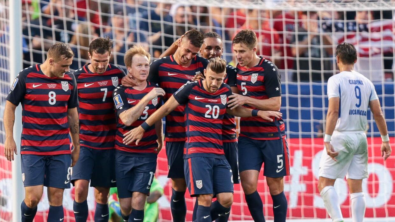 Team USA en la Copa Oro.