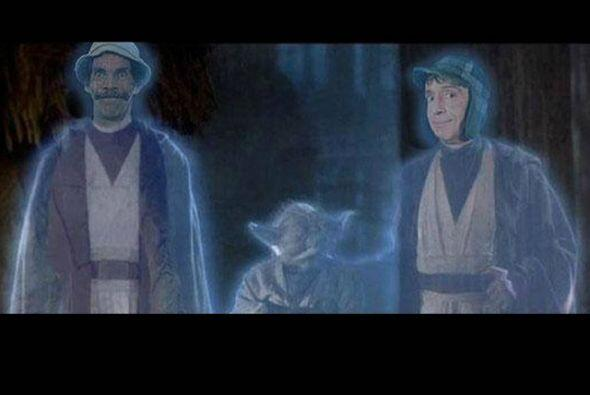 Otros usuarios mezclaron la saga Star Wars juntando a El Chavo, Don Ramó...