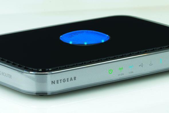 Con el enrutador inalámbrico N Netgear N600 de doble banda sólo podrás p...