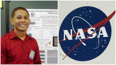 Jordan A. Caraballo Vega, joven boricua becado por la NASA