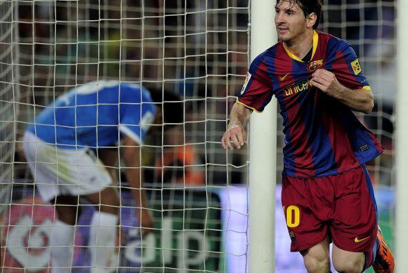 'La Pulga' resultó el hombre importante en el último choque del Barcelon...