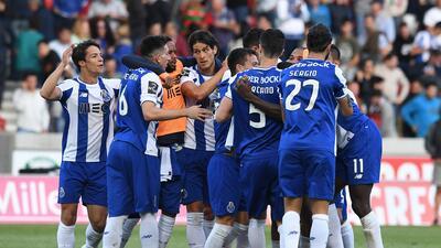 Porto quedó a un paso de ser campeón en Portugal