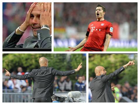 Lewandowski Guardiola