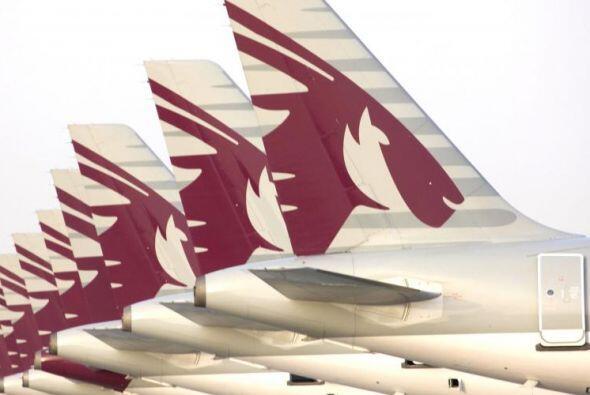 Ir desde Doha, Qatar hasta Dallas, USA en un vuelo de Qatar Airways tard...