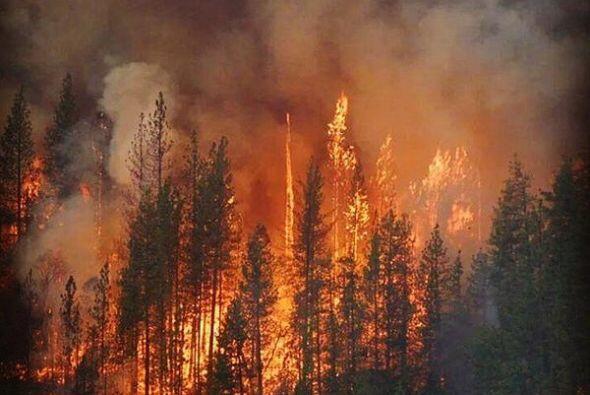La destrucción en varias poblaciones contabiliza; carros, viviendas, res...