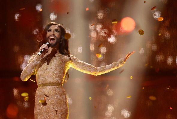 """La canción con la que Conchita Wurst ganó el concurso lleva por título """"..."""
