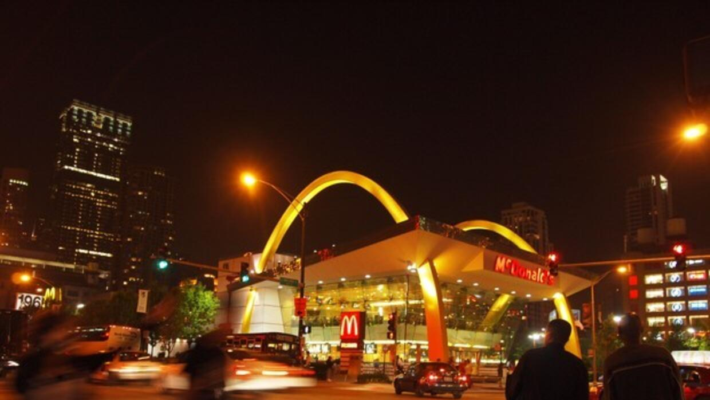 """El McDonald's """"Rock & Roll"""" en Chicago. Otro McDonald&..."""