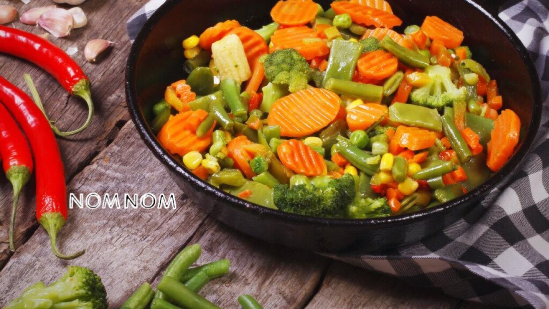 Vegetales crudos