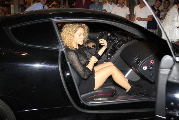 También captamos a Shakira.