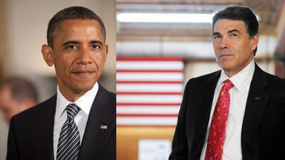 Obama y Rick Perry se reunirán para hablar de la crisis migratoria