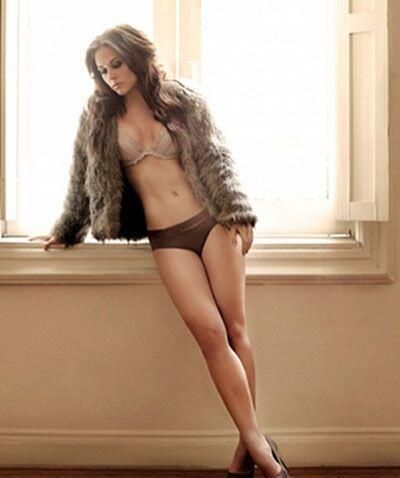 Zuria Vega ha derrochado mucha sensualidad.