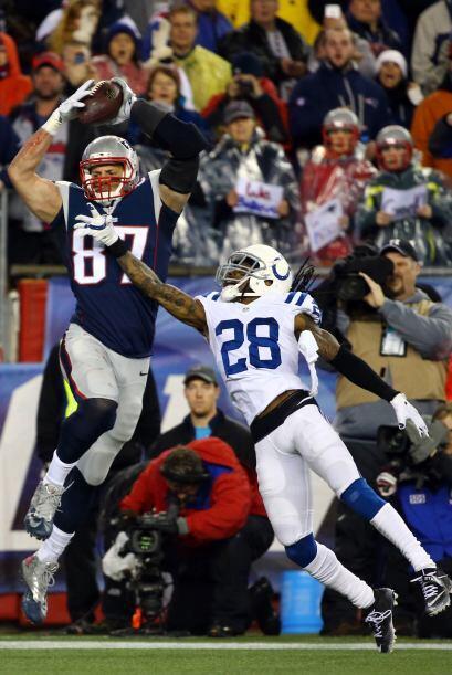 #3: TE Rob Gronkowski (Patriots).