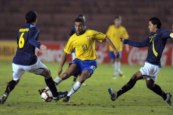 Brasil sumó nueve puntos y se colocó en una situaci&oacute...