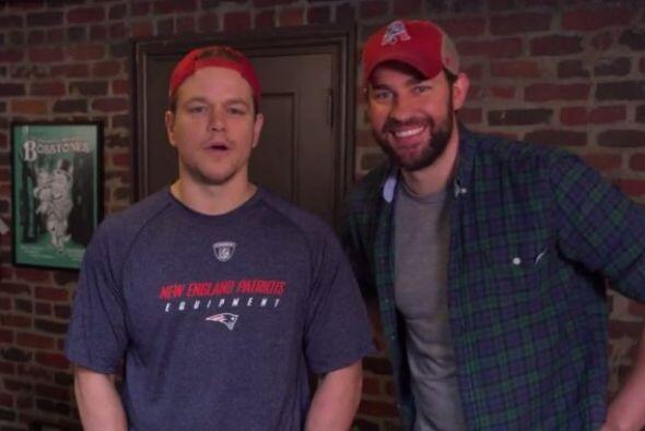 Ambos participaron en un video con Jimmy Kimmel defendiendo a Tom Brady.