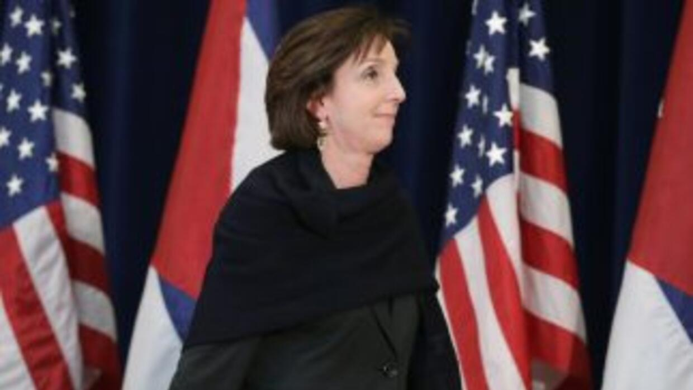Roberta Jacobson, secretaria de Estado adjunta de EEUU para Latinoamérica.