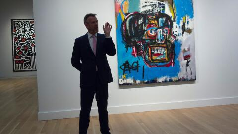 "Obra ""Untitled"" de Basquiat"