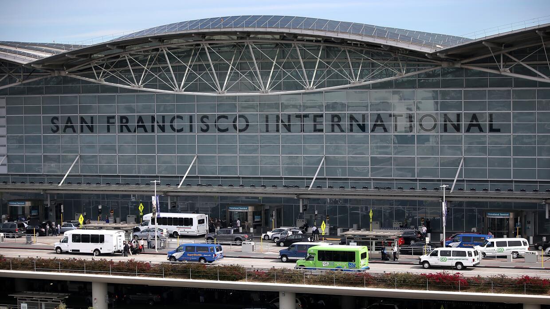 El aeropuerto de San Francisco.