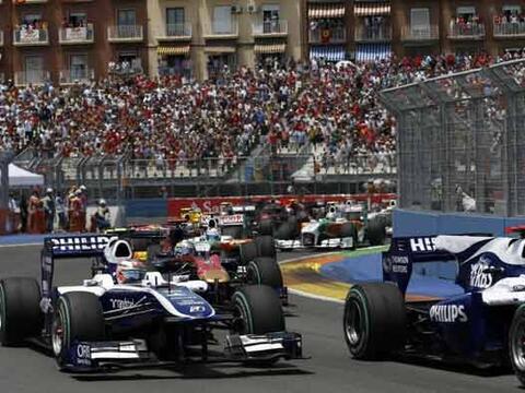 El circuito callejero de Valencia cumplió su tercer año co...
