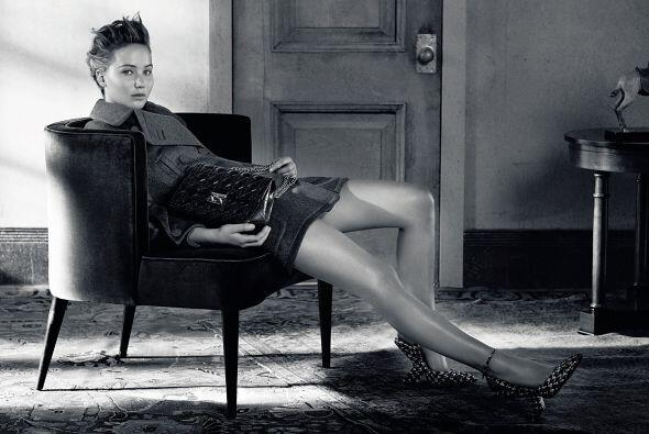 Para este 'shooting', la mujer que da vida a Katniss Everdeen en la saga...