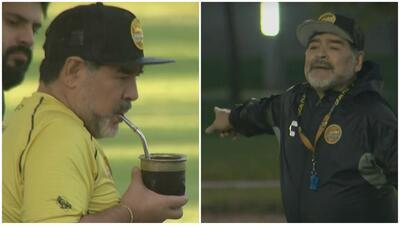 Hasta Maradona se pone a punto para enfrentar a Querétaro por la Copa MX