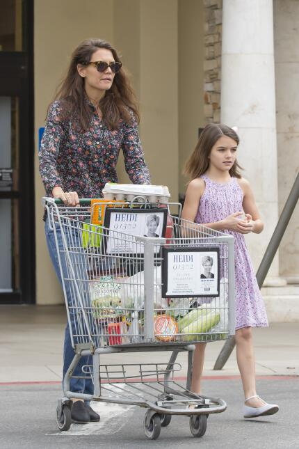 Katie Holmes y su hija Suri