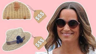 Pippa Middleton luce radiante su embarazo en Wimbledon: mira qué se puso y cuánto cuesta
