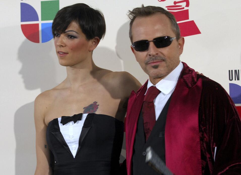 ¿Quién recuerda cuando acompañó a Miguel Bosé en la alfombra de los Lati...