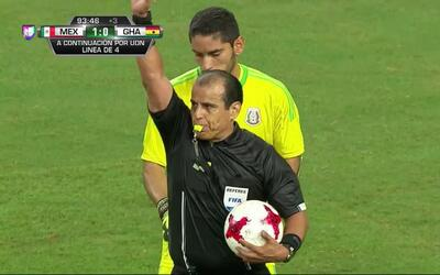 Se acabó. El árbitro da por terminado el partido.