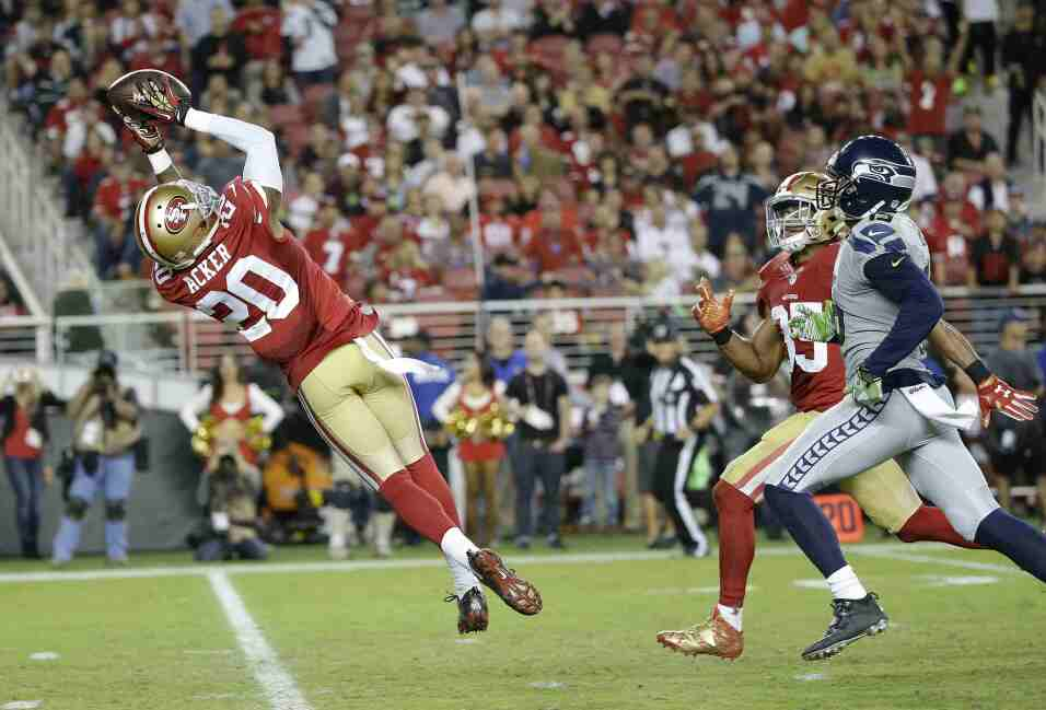Los Seattle Seahawks vencieron 20 - 3 a los San Francisco 49ers