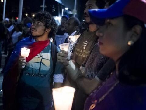 Este jueves los estudiantes convocaron una marcha que se realizó...