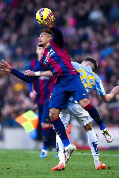 Sin faltas y con buena disposición el Málaga mantuvo a raya al Barcelona.