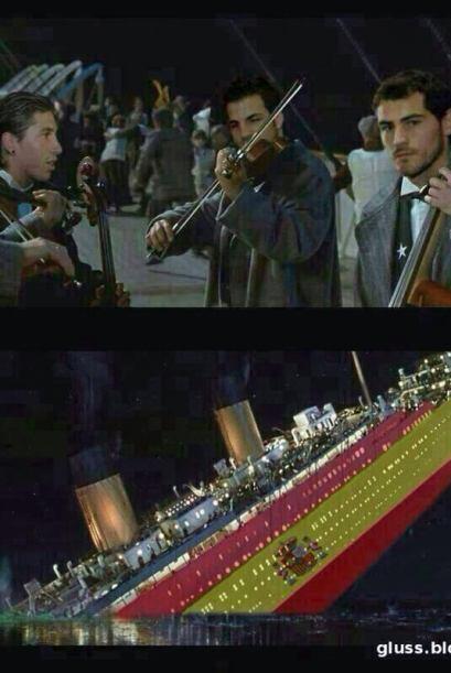 Como los músicos del Titanic. Todo sobre el Mundial de Brasil 2014.