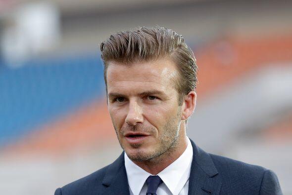David Beckham 2 de mayo de 1975.