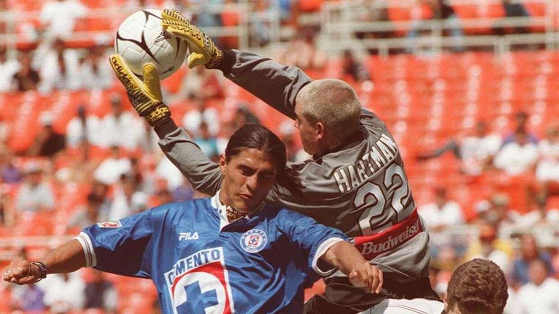 Paco Palencia, Kevin Hartman Cruz Azul vs Galaxy