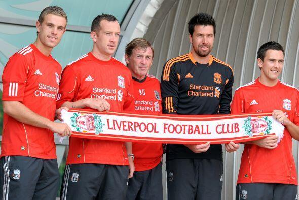 Una vez más, el 'You'll never walk alone' apoyará al Liverpool en cada p...