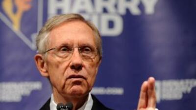 Harry Reid es el líder demócrata en el Senado.