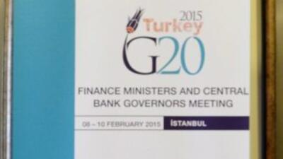 Cumbre G20 de Finanzas.