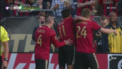 Dupla letal Almirón-Martínez exhiben su clase en magistral gol de Atlant...