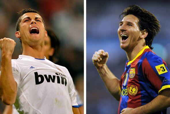 Messi y Cristiano Ronaldo son ídolos, figuras en sus equipos y en sus se...