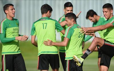 Tras el último entrenamiento en Rusia, Osorio tendría ya un once para en...